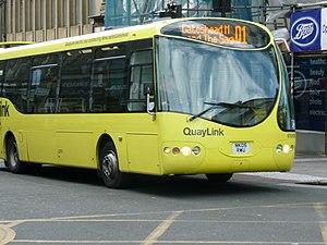 QuayLink - Stagecoach North East QuayLink Designline Olymbus in March 2008