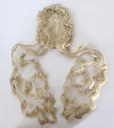 File:Queen Victoria white mourning head-dress.JPG hairpiece, royalty, mourning traditions