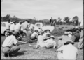Queensland State Archives 1720 Department of Agriculture and Stock Cattle Husbandry Branch field day at a farm in the Upper Coomera Gold Coast August 1954.png