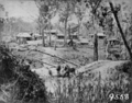 Queensland State Archives 3383 Holmes Camp during the construction of the Ipswich to Toowoomba Railway 1865.png