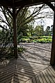 RHS Garden Hyde Hall, Essex, England ~ Lower Pond from gazebo 01.jpg