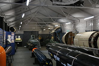 Royal Navy Submarine Museum - Part of one of the Museum's galleries