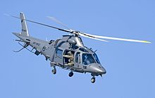 RNZAF A109 helicopter at the 2012 Wanaka Airshow.jpg