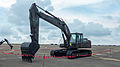 ROCA Caterpillar 329D Excavator Display at CCK Air Force Base 20140719a.jpg