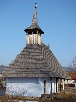 Wooden church in Bălan Cricova