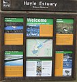 RSPB information board, Hayle Estuary - geograph.org.uk - 783229.jpg
