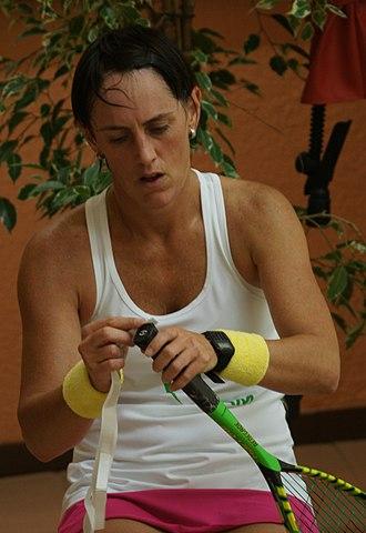 Rachael Grinham - Grinham at Monte-Carlo squash classic 2015