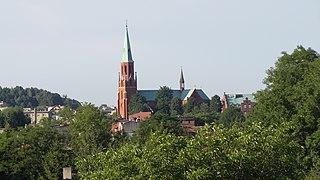 Radzionków Place in Silesian Voivodeship, Poland