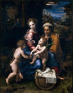 painting by Raphael (Prado)