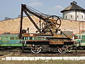 Rail crane hand operated Węgliniec Poland.jpg