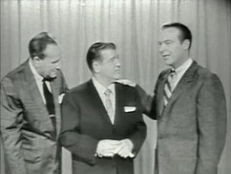 Ralph Edwards - Edwards with Abbott and Costello on This Is Your Life (1956)
