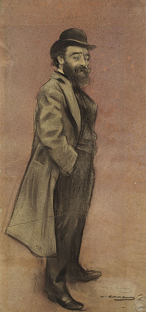Eliseu Meifrèn - Eliseu Meifrèn; drawing by Ramon Casas (date unknown)