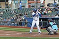 Ramon Torres at bat (40566781804).jpg