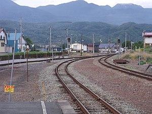 Rankoshi Station - Image: Rankoshi eki 03