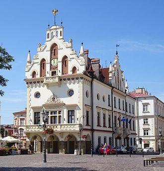 Podkarpackie Voivodeship - Image: Ratusz POL, Rzeszów