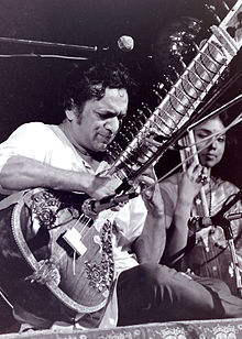 Shankar performing in 1969