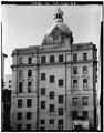 Rear elevation,closer view - Savannah City Hall, Bay and Bull Streets, Savannah, Chatham County, GA HABS GA,26-SAV,61-20.tif