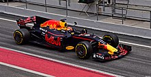 La RB13, vettura di Formula 1 della scuderia Red Bull Racing