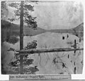 Reflection-Donner Lake - View from Pollard's Hotel - Eastern Summit in the distance. LCCN2002723841.jpg