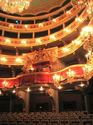 Regensburg Stadttheater Zuschauerraum 2004