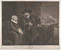 Regnier Hansloe, an Anabaptist Minister, and His Wife (Cornelis Claesz Anslo and His Wife Aeltje Gerritsdr Schouten) MET DP835347.jpg