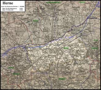 Herne Karte Stadtteile.Herne Wikipedia
