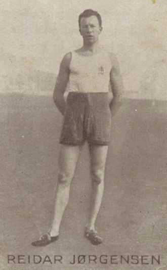 Reidar Jørgensen - Reidar Jørgensen ca. 1930