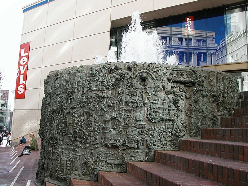 File:Relief Map of San Francisco In Fountain.jpg