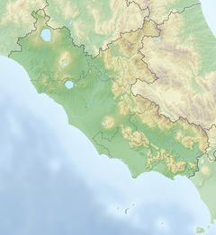 August 2016 Central Italy earthquake is located in Lazio