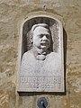 Relief of Imre Ujhelyi by Lajos Kecskés, 2017 Mosonmagyaróvár.jpg