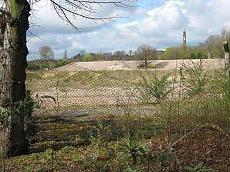 Pebble Mill Studios - The vacant site in 2009