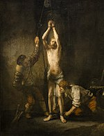 Rembrandt - Christ at the Column Hessische Landesmuseum.jpg