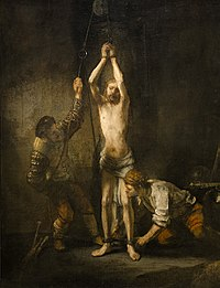 Rembrandt - Christ at the Column Hessische Landesmuseum.jpg