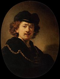 Rembrandt - Self-Portrait Wearing a Toque and a Gold Chain - WGA19210.jpg