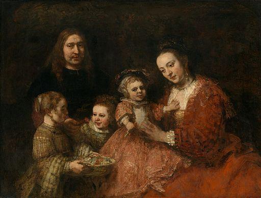 Rembrandt van Rijn - Familieportret (Herzog Anton Ulrich-Museum)