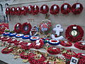 Remembrance poppies at the Cenotaph in November 2011 3.JPG