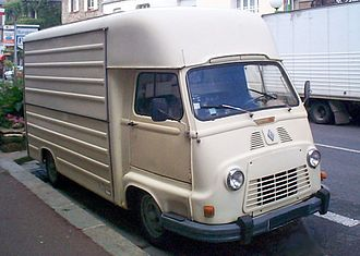 Renault Estafette - Renault Estafette fitted with tall box body