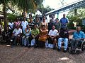 Representatives from Pacific disability organisations gather in Nadi, Fiji, in February 2012 for leadership training frunded through Australia's Pacific Leadership Program. Photo- AusAID (10716984683).jpg