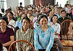 Residents in Vietnam's Tien Ngoai Commune, Duy Tien District, Ha Nam Province, discuss ways to prevent and control avian and pandemic influenza. (5640109312).jpg