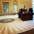 Resolute Desk Replica by Eli Wilner & Company George W Bush Center.jpg
