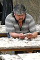 Restoration Worker at Terraced Houses - Efes (Ephesus) - Turkey (5754963862).jpg