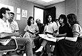 Reunión de equipo de trabajo de Diálogo 1990.jpg
