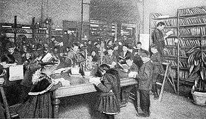 St. Louis Public Library - Juvenile Room in St. Louis Public Library, 1900