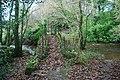 Rhyd a Phont Droed dros Afon Dwyfach - Ford and Footbridge over Afon Dwyfach - geograph.org.uk - 631707.jpg