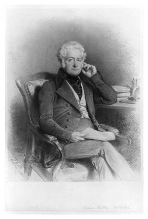 Richard Bentley (publisher) - A lithograph of Richard Bentley in 1844 by Charles Baugniet