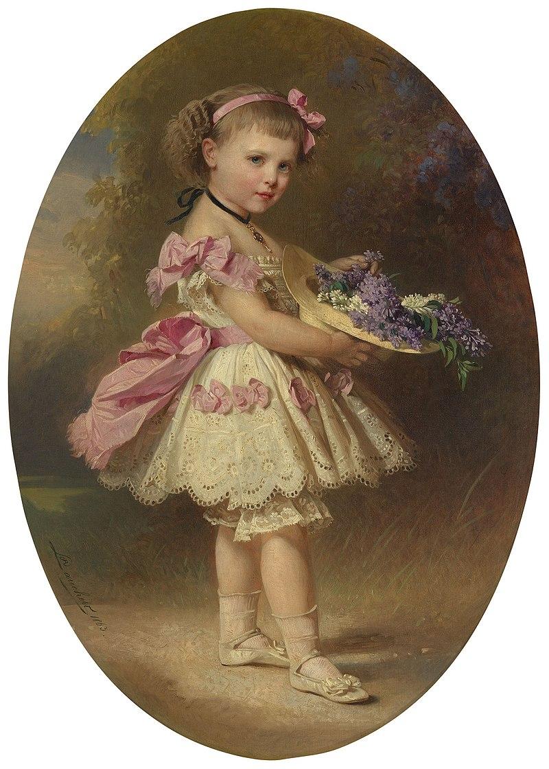 Ричард Лаухерт (1823-69) - принцесса Шарлотта Прусская (1860-1919) в детстве - RCIN 403894 - Royal Collection.jpg