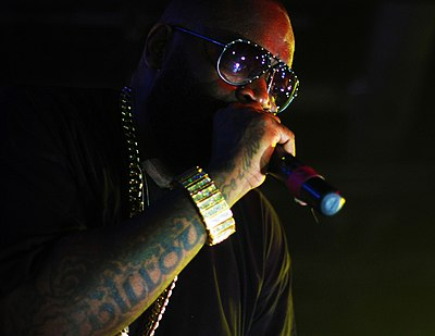Picture of a band or musician: Rick Ross