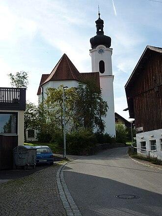 Rieden am Forggensee - Church