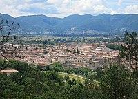 Rieti da Colle San Mauro - Centro storico, 2 (mid).JPG