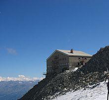 Esempio di rifugio alpino: il rifugio Torino.